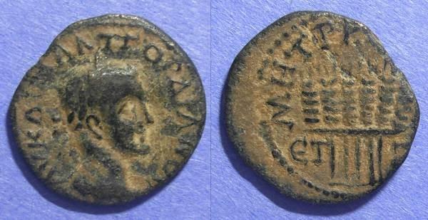 Ancient Coins - Caesarea Cappadocia, Gordian III 238-244, AE22