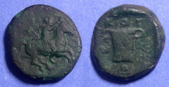 Ancient Coins - Kingdom of Thrace, Kotys I 382-359 BC, AE19