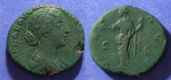 Ancient Coins - Roman Empire, Lucilla 161-9, As