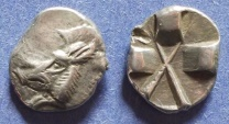Ancient Coins - Lycia, Uncertain dynast 520-480 BC, Tetrobol