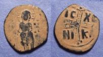 Ancient Coins - Byzantine Empire, Anonymous Class C (Michael IV) 1034-41, Follis