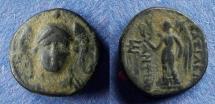 Ancient Coins - Seleucid Kingdom, Antiochos I 281-261 BC, AE14