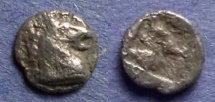 Ancient Coins - Aeolis, Kyme 500-475 BC, Hemiobol