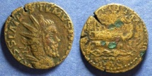 Ancient Coins - Gallic Successionist Empire, Postumus 259-269, Double Sestertius