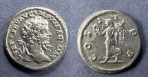 Ancient Coins - Roman Empire, Septimius Severus 193-217, Denarius