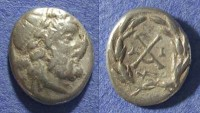 Ancient Coins - Achaian League, Patrai Achaia 175-168 BC, Hemidrachm