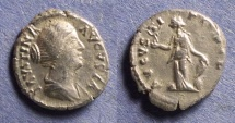 Ancient Coins - Roman Empire, Faustina Jr d. 175, Denarius