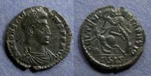 Ancient Coins - Roman Empire, Constantius II 337-361, 1/2 Centenionalis