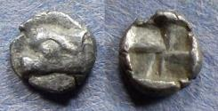 Ancient Coins - Ionia, Phokaia Circa 500 BC, Hemiobol