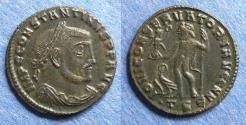Ancient Coins - Roman Empire, Constantine (bearded) 307-337, Follis