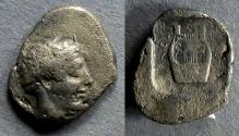Ancient Coins - Ionia, Kolophon 410-400 BC, Drachm