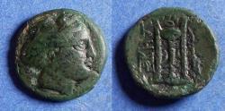 Ancient Coins - Mysia, Kyzikos Circa 150 BC, Bronze AE18