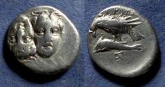 Ancient Coins - Moesia, Istros Circa 350 BC, Drachm