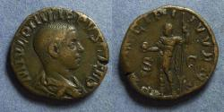 Ancient Coins - Roman Empire, Philip II (as Caesar) 244-7, Sestertius