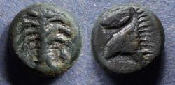 Ancient Coins - Zeugitania, Carthage - imitative Circa 300 BC, AE15