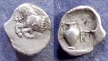 Ancient Coins - Mysia, Proconnesus 450-425 BC, Hemiobol