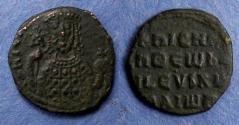 Ancient Coins - Byzantine Empire, Nicephorus II 963-969, Follis
