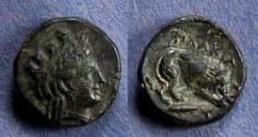 Ancient Coins - Mysia, Plakia Circa 350 BC, AE12