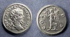 Ancient Coins - Roman Empire, Septimius Severus 193-217, Denarius