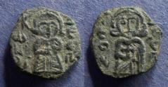 Ancient Coins - Byzantine Empire, Leo III 717-741, Follis