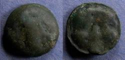Ancient Coins - Sicily, Selinos 435-415 BC, Trias