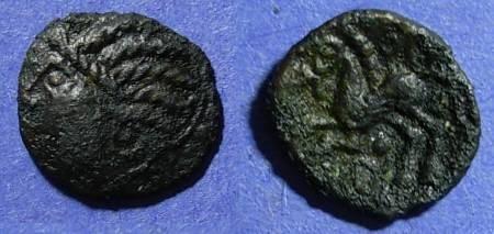 Ancient Coins - Britian - Trinovantes, Addedomaros 40-30 BC, AE15
