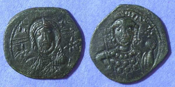 Ancient Coins - Byzantine Empire – Michael VII 1071-8 Follis