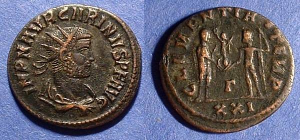Ancient Coins - Carinus as Augustus 283-5  Antoninianus
