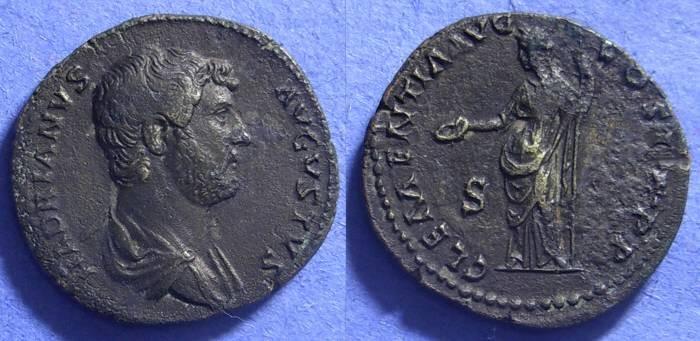 Ancient Coins - Hadrian 117-138 - Dupondius