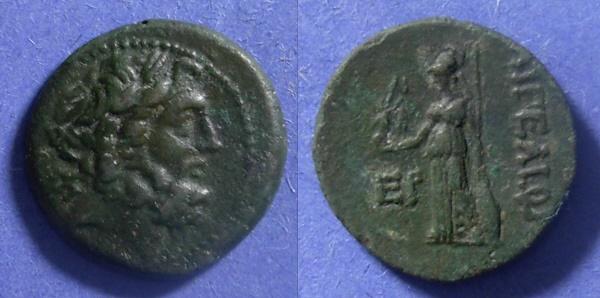 Ancient Coins - Aegeae, Cilicia Circa 150 BC, AE21