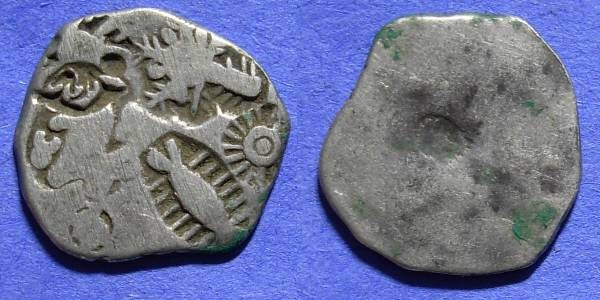 Ancient Coins - India - Kingdom of Magadha - Karshapana circa 445-413 BC