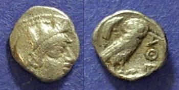 Ancient Coins - Athens, Attica 449-404 BC, Obol