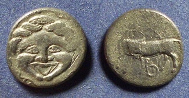 Ancient Coins - Parion, Mysia Circa 350 BC, Hemidrachm