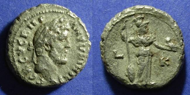 Ancient Coins - Roman Egypt, Antoninus Pius 138-161 AD, Tetradrachm