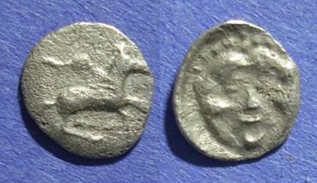 Ancient Coins - Corinth,  375-300 BC, Trihemiobol
