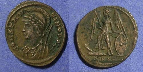 Ancient Coins - Roman Empire Constantine family 330-348 AD AE 3/4 (18mm)