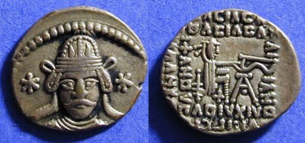 Ancient Coins - Parthia - Vonones II 51AD Drachm