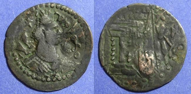 Ancient Coins - Nezak Huns, Sri Shaho 650-700 AD, Drachm