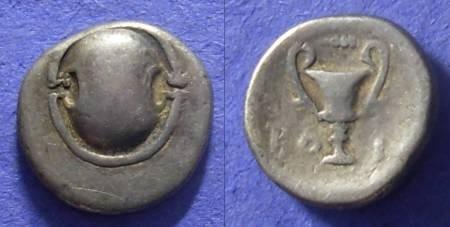 Ancient Coins - Boeotia – Federal coinage – Hemidrachm 338-315 BC