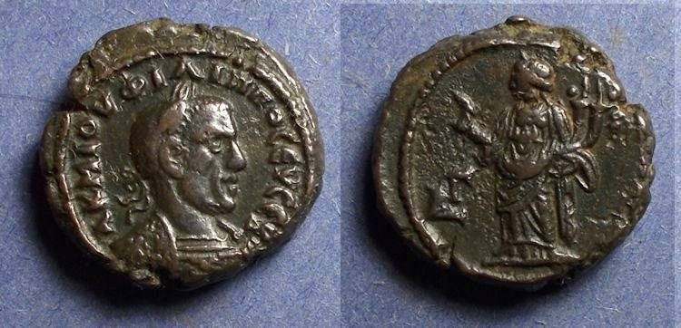 Ancient Coins - Roman Egypt, Philip I 244-249, Tetradrachm