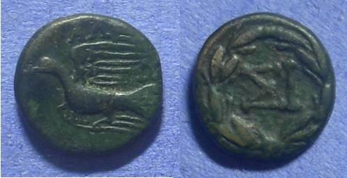 Ancient Coins - Sikyon – AE15 – 90-60 BC
