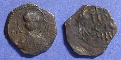 World Coins - Crusader Antioch, Tancred 1101-1112, Follis