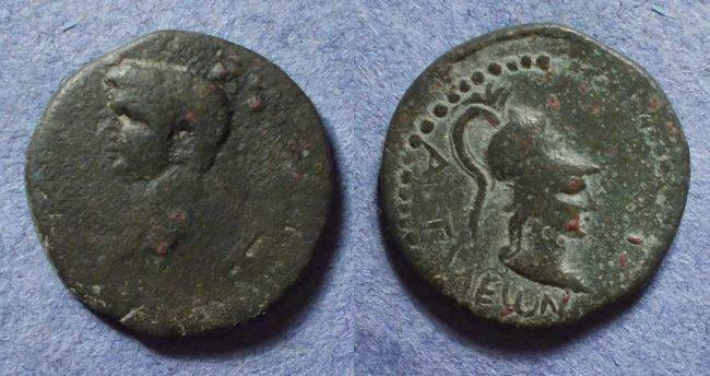 Ancient Coins - Attalea Lycia, Claudius 41-54, AE19