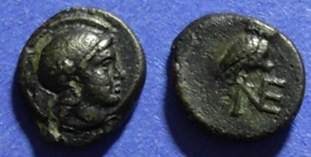 Ancient Coins - Neonteichos, Aeolis Circa 150 BC, AE9