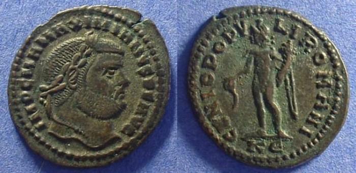 Ancient Coins - Maximianus - 286-305AD - Follis