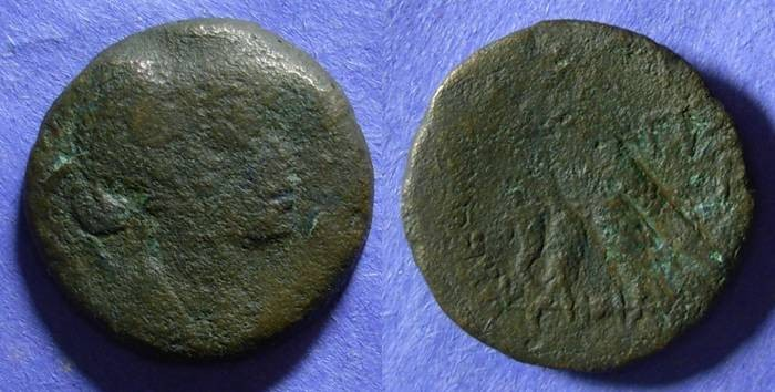 Ancient Coins - Egypt, Cleopatra VII 51-30 BC, 80 drachm