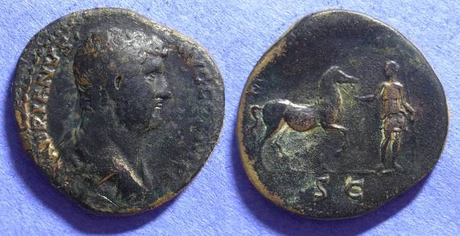 Ancient Coins - Hadrian 117-138 - Aes - Mauretania reverse