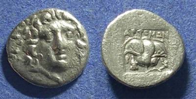 Ancient Coins - Rhodes,  170-150, Hemidrachm