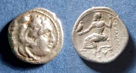 Ancient Coins - Macedonian Kingdom, Alexander III 336-323 BC, Lifetime Drachm
