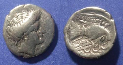 Ancient Coins - Chalkis, Euboea 340-294 BC, Drachm